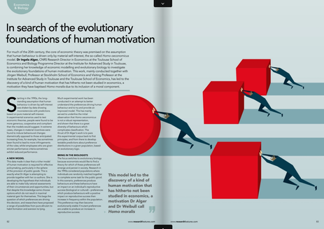 the evolution of human motivation