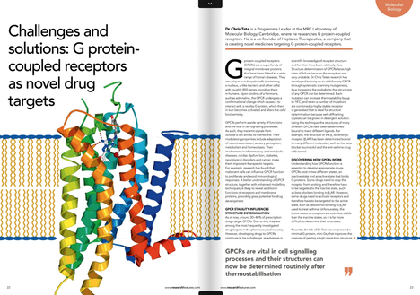 g-protein coupled receptors as drug targets